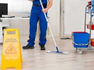 Professional Office Floor Maintenance